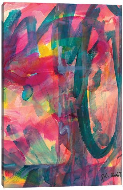 Down The Raabbit Hole Canvas Art Print