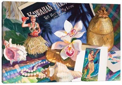 Hawaiian Moonlight Canvas Art Print