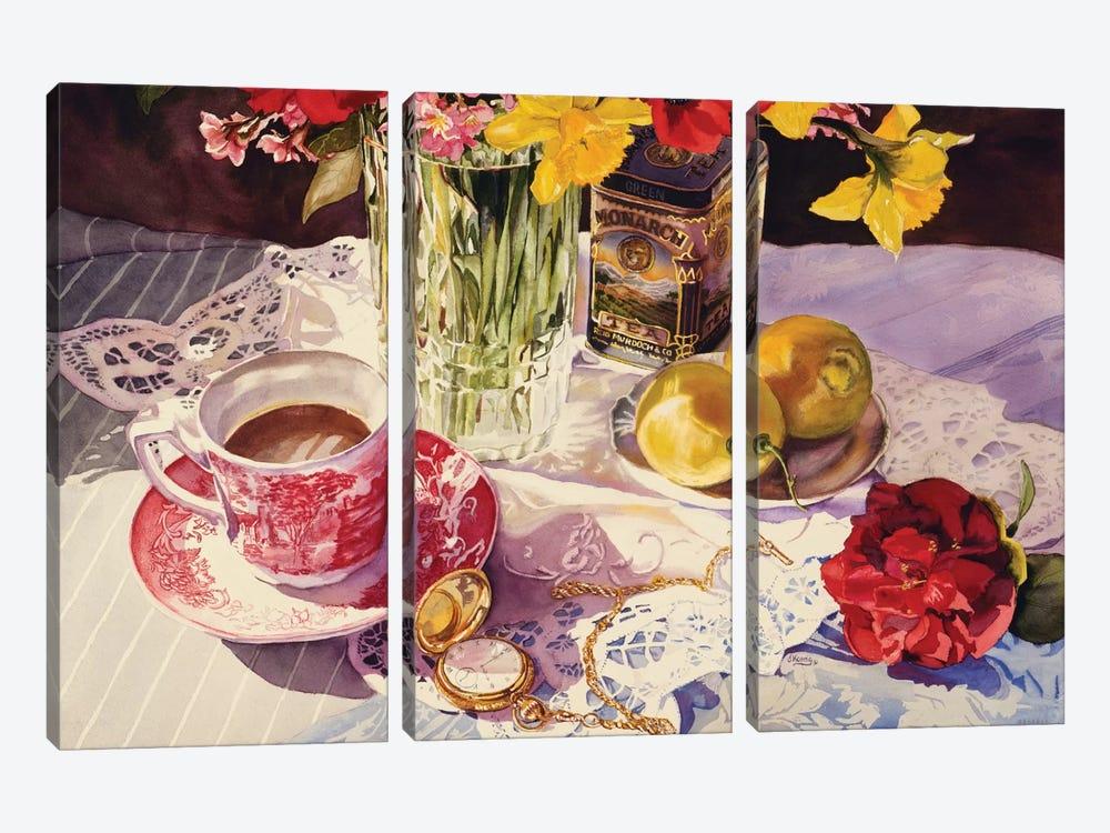 High Tea by Judy Koenig 3-piece Canvas Artwork