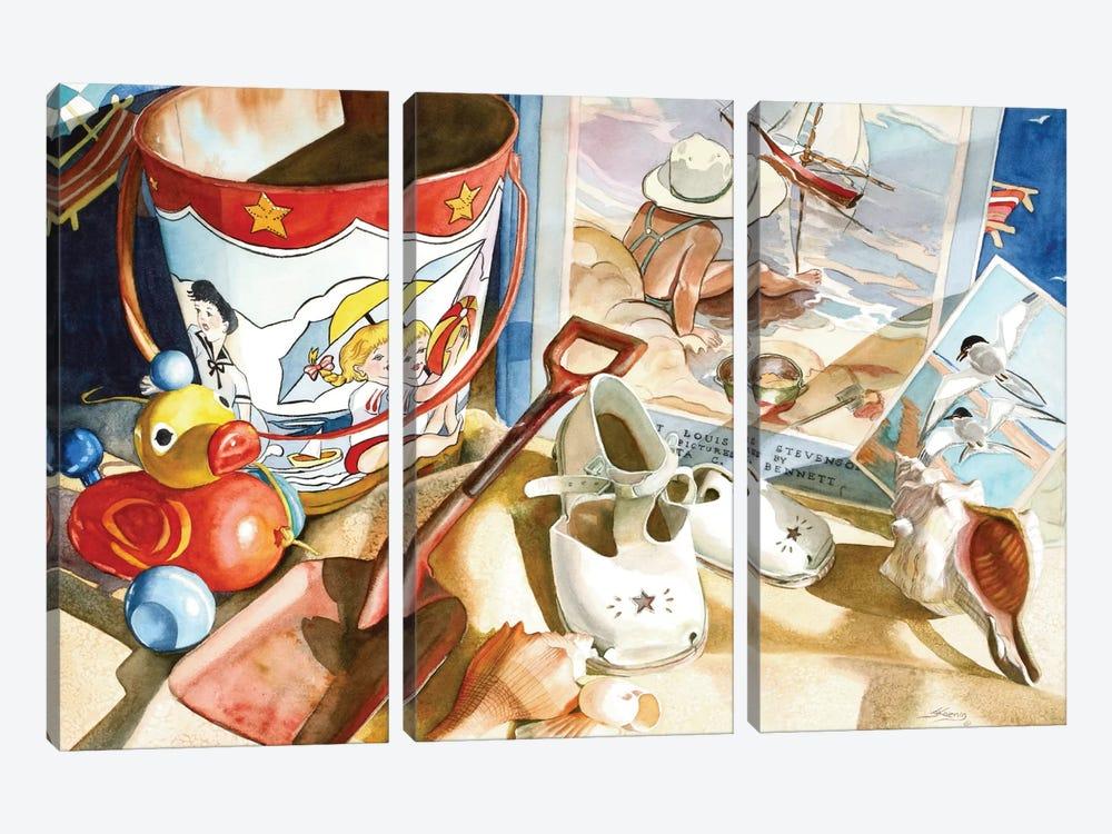 Lazy Daze by Judy Koenig 3-piece Canvas Artwork
