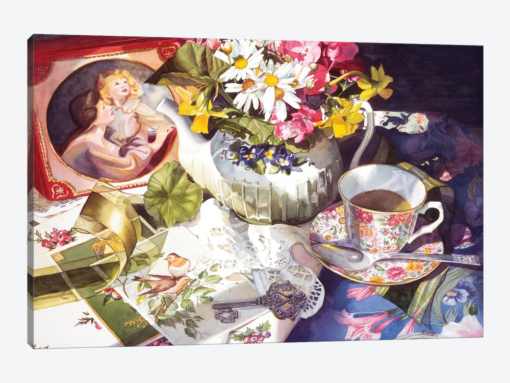 Morning light by Judy Koenig 1-piece Canvas Print
