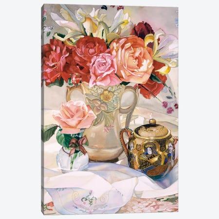 Rose Dynasty Canvas Print #JUD20} by Judy Koenig Art Print