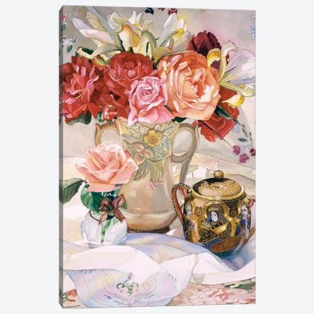 Rose Dynasty Canvas Print #JUD20} by Judy Koenig Art Print