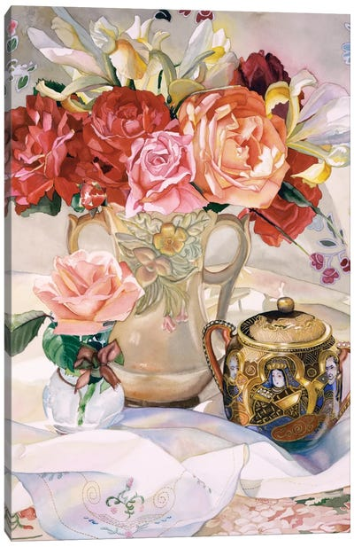 Rose Dynasty Canvas Art Print