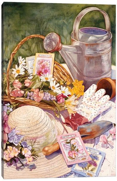 Spring Garden Canvas Print #JUD22