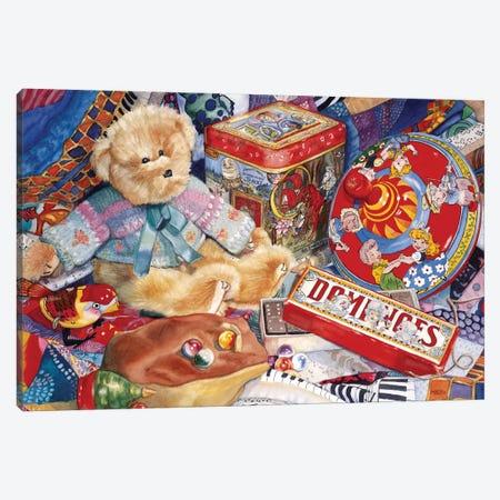 Topsy-Turvy Canvas Print #JUD25} by Judy Koenig Canvas Wall Art