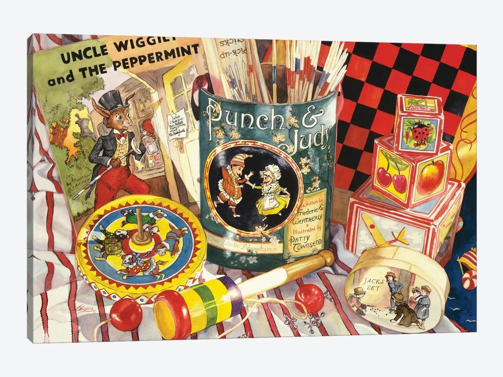 Uncle Wiggly by Judy Koenig 1-piece Canvas Artwork