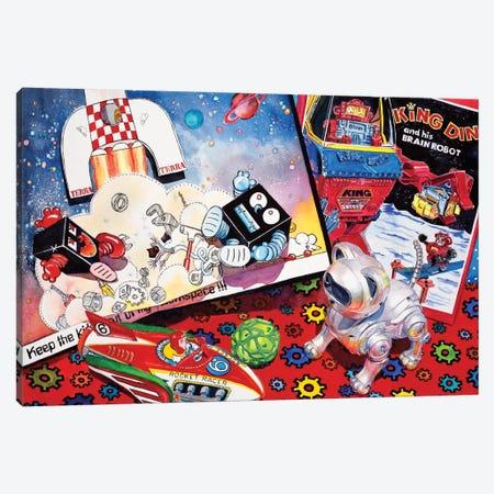 Blast off Canvas Print #JUD2} by Judy Koenig Canvas Art
