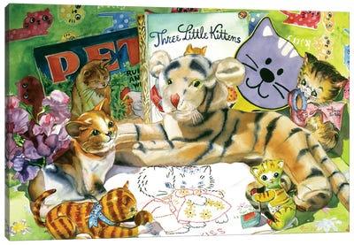 Cat Sonnet Canvas Art Print
