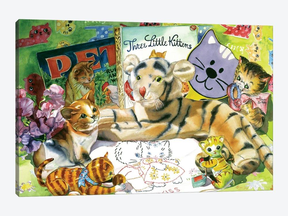 Cat Sonnet by Judy Koenig 1-piece Canvas Print