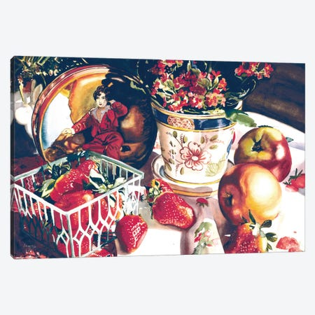 Dolce Rosa Canvas Print #JUD7} by Judy Koenig Canvas Art Print
