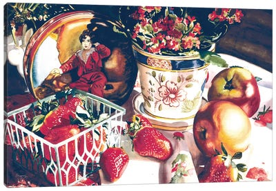 Dolce Rosa Canvas Art Print