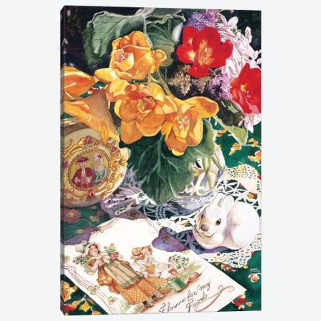 Etude En Saffron Canvas Print #JUD9} by Judy Koenig Canvas Wall Art