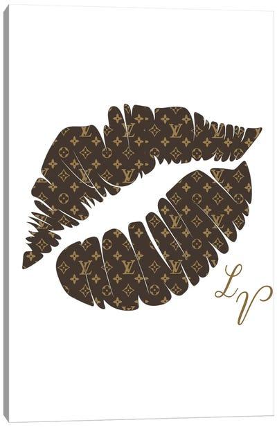 Louis Vuitton Kiss Canvas Art Print