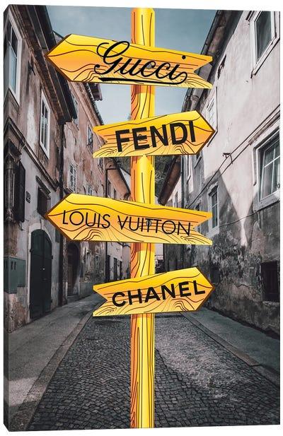 Which Way? Canvas Art Print