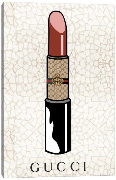 Gucci Lipstick Canvas Art Print