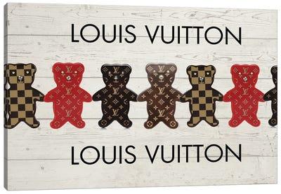 Louis Vuitton Bears Canvas Art Print