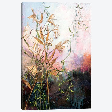 At The Pond Canvas Print #JUH104} by Julia Hacker Canvas Wall Art