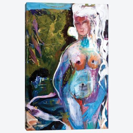 La Femme Canvas Print #JUH117} by Julia Hacker Art Print