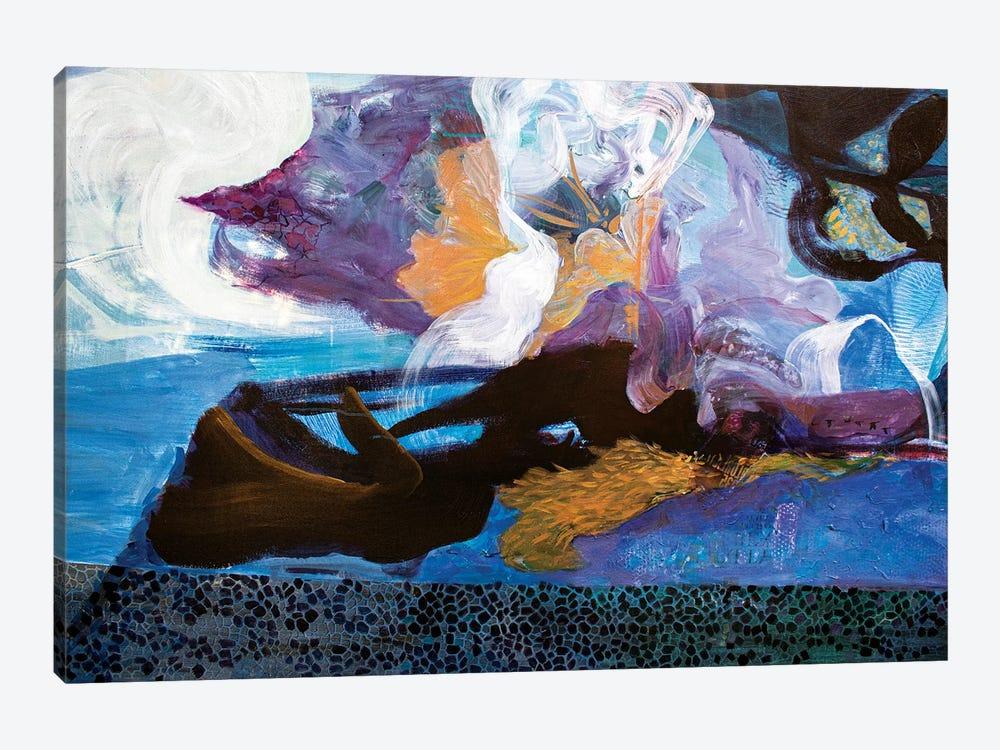 Sensitive, Not Soft by Julia Hacker 1-piece Canvas Art