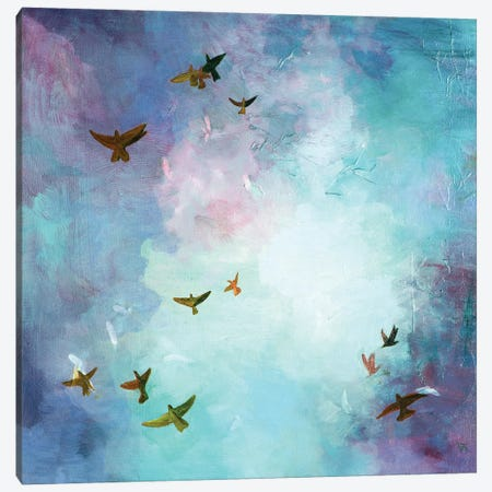Sky Canvas Print #JUH128} by Julia Hacker Canvas Print