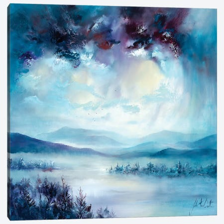 English Mist Canvas Print #JUI11} by Julie Ann Scott Canvas Art Print