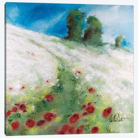Fields of Joy II Canvas Print #JUI16} by Julie Ann Scott Canvas Art