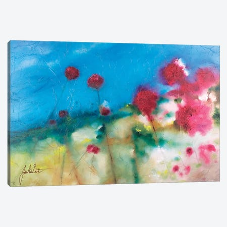 Fields of Joy III Canvas Print #JUI17} by Julie Ann Scott Canvas Wall Art