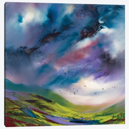 Flights Fancy VI Canvas Print #JUI19} by Julie Ann Scott Canvas Print