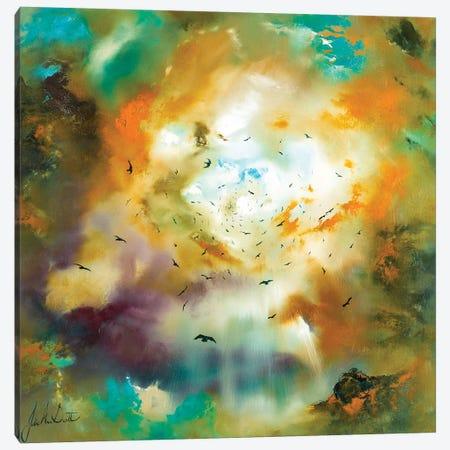 Flights of Fancy III Canvas Print #JUI23} by Julie Ann Scott Canvas Art