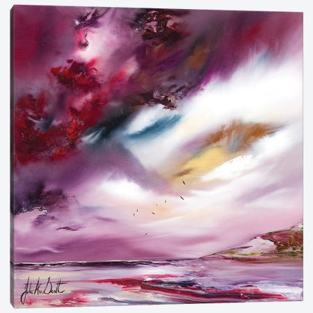 Flights of Fancy IV Canvas Print #JUI24} by Julie Ann Scott Canvas Art Print