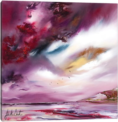 Flights of Fancy IV Canvas Art Print