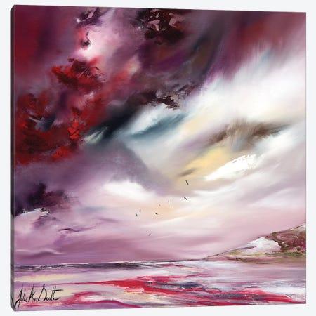 A Ruby Shore  Canvas Print #JUI2} by Julie Ann Scott Canvas Print