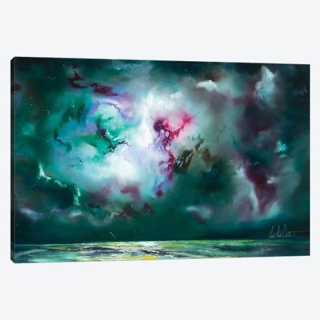 Night Dreaming Canvas Print #JUI35} by Julie Ann Scott Canvas Artwork