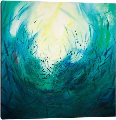 Seas of Tranquility I Canvas Art Print
