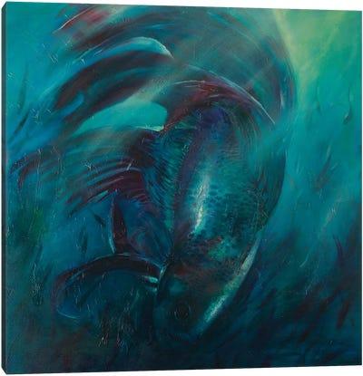 Seas of Tranquility II Canvas Art Print
