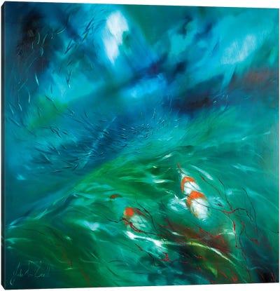 Seas of Tranquility IV Canvas Art Print