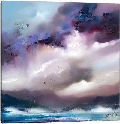 An English Lake Canvas Art Print