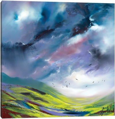 An English Storm Canvas Art Print