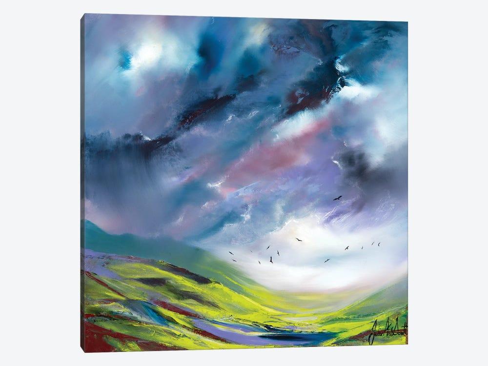 An English Storm by Julie Ann Scott 1-piece Art Print