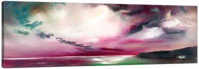 Beside Sill Water Canvas Art Print