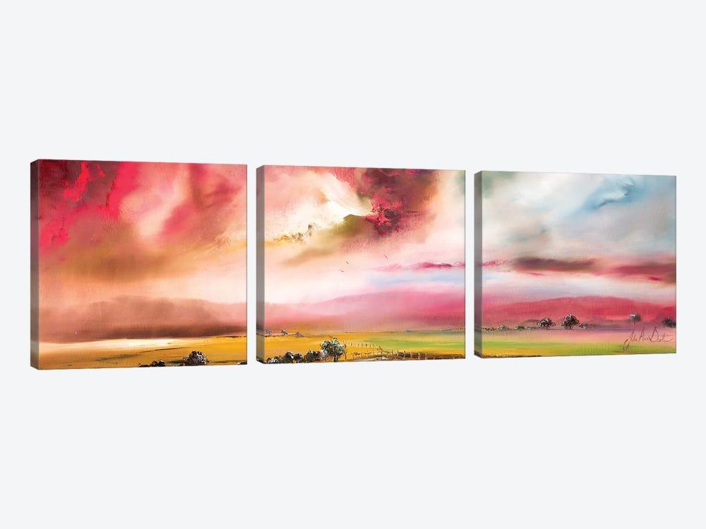 Constant Grace by Julie Ann Scott 3-piece Canvas Print