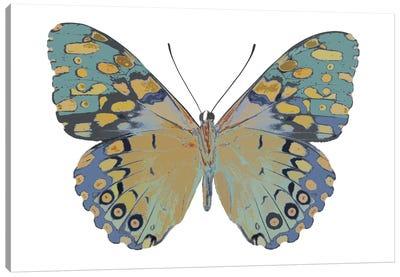 Butterfly In Amethyst II Canvas Art Print