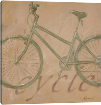 Cycle Canvas Art Print