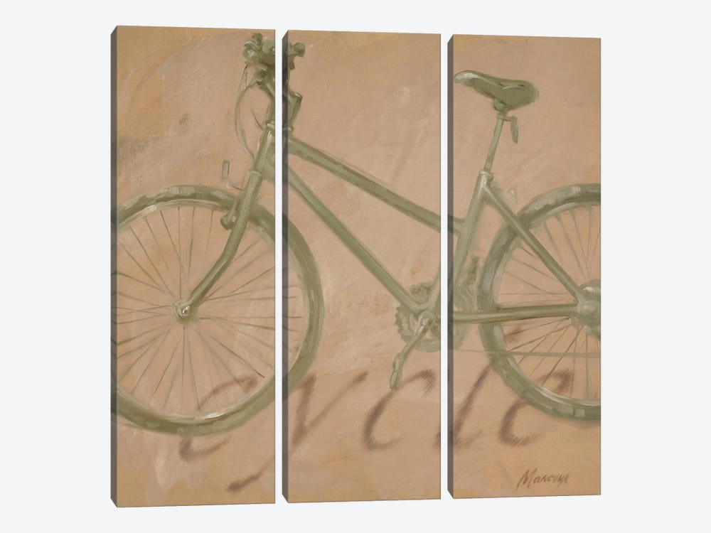 Cycle 3-piece Canvas Art Print