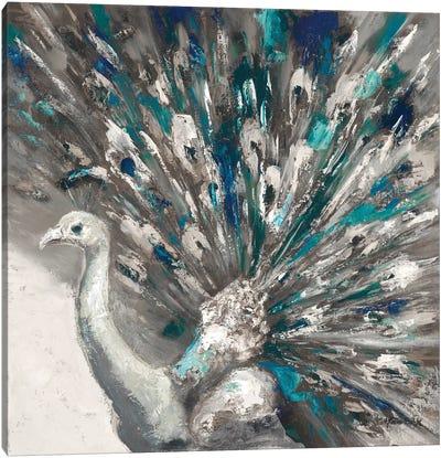 Proud Peacock II Canvas Art Print