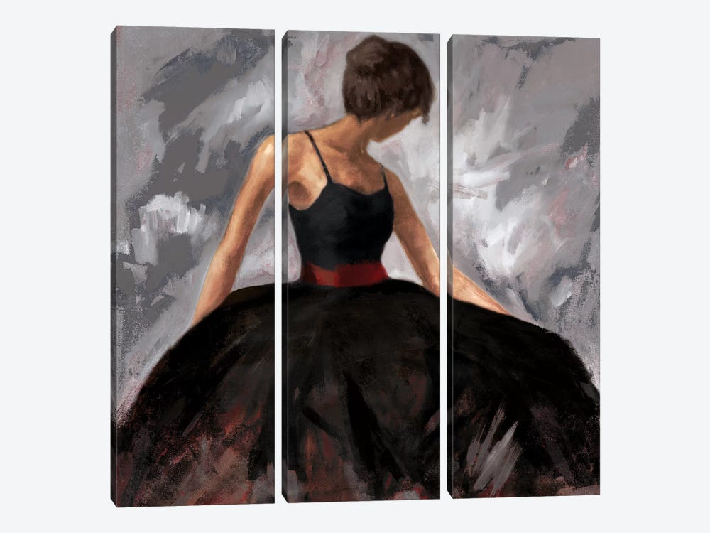 Evening Out by Julianne Marcoux 3-piece Canvas Artwork