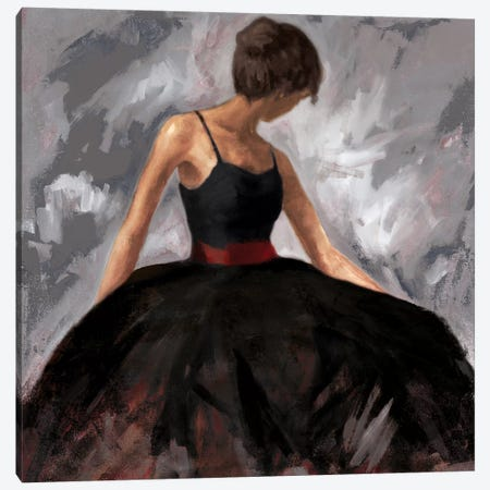 Evening Out Canvas Print #JUM4} by Julianne Marcoux Canvas Art
