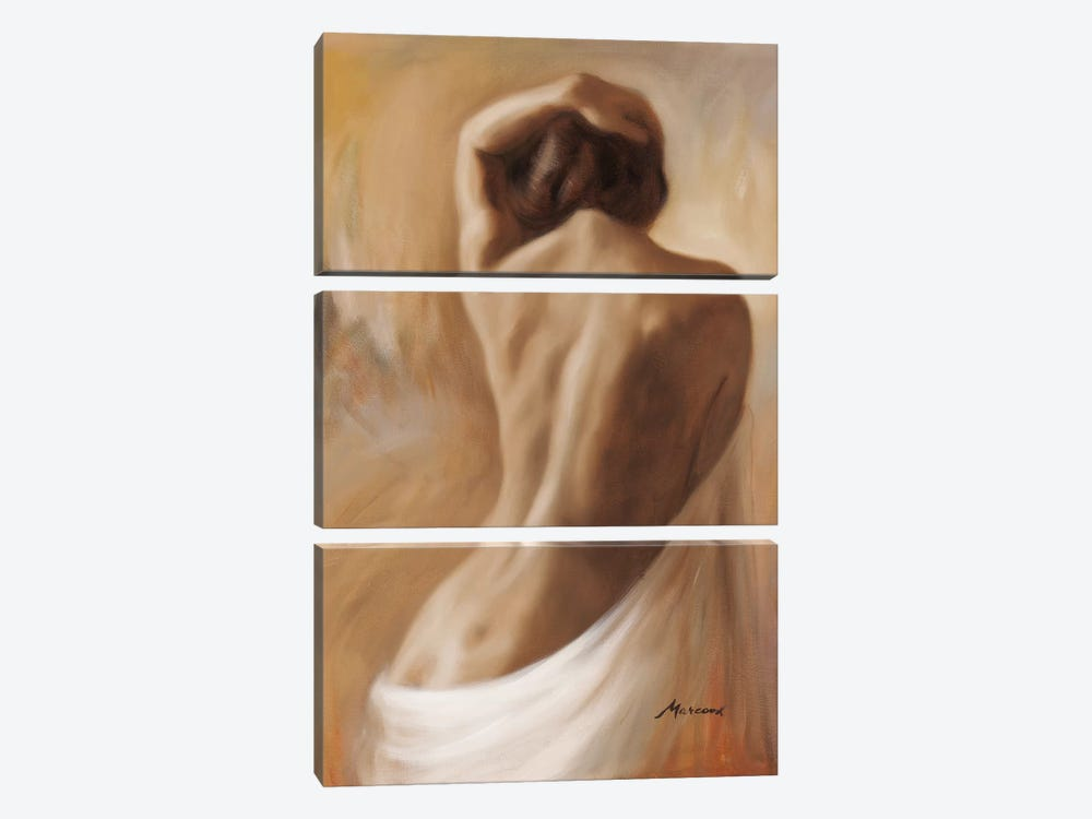 Figurative One by Julianne Marcoux 3-piece Canvas Art Print