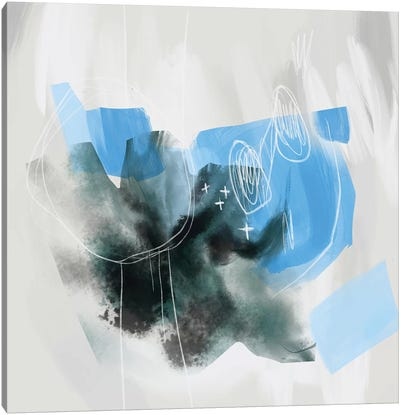 West Brompton Canvas Art Print